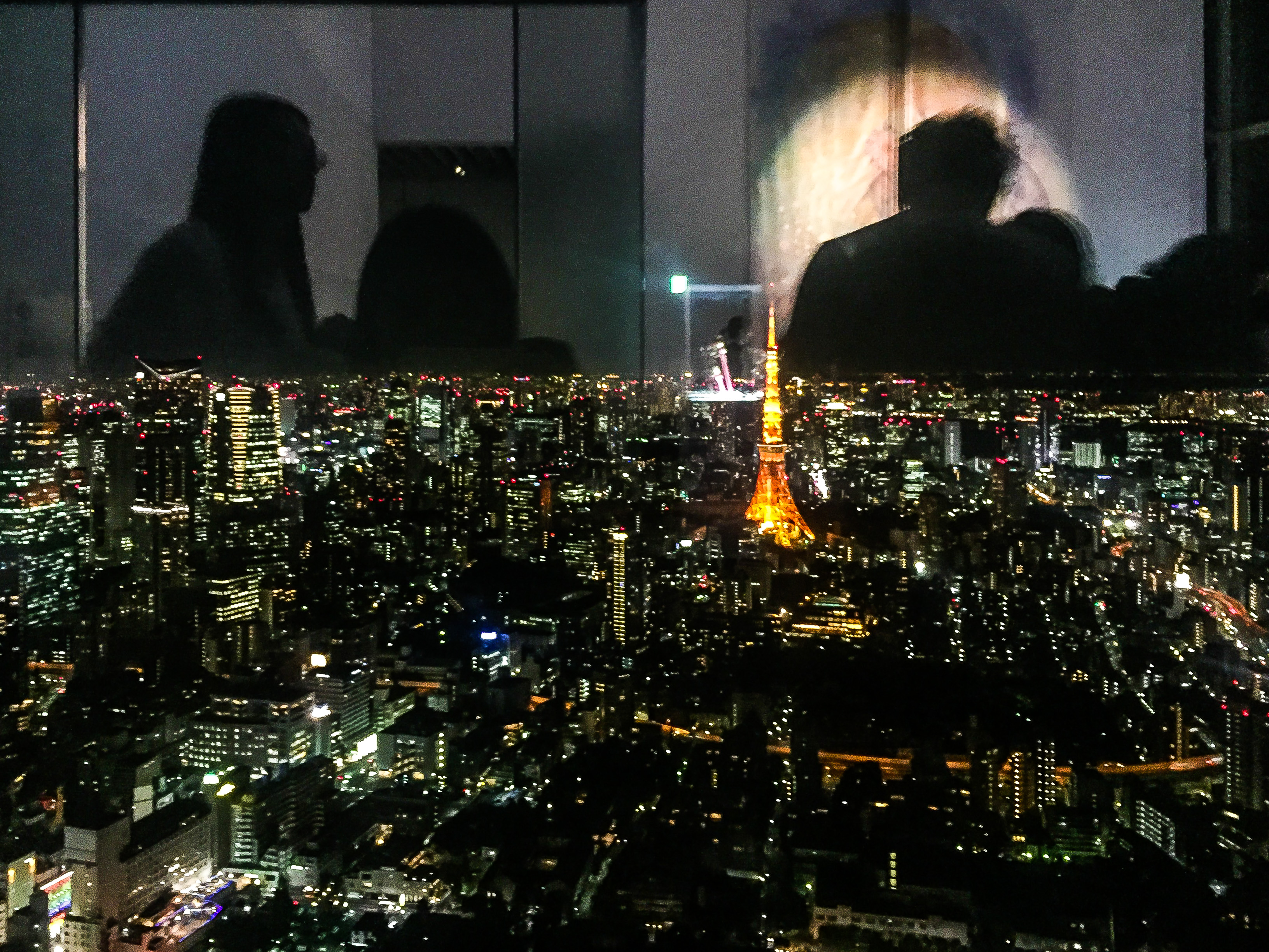 View of the Tokyo Tower from Roppongi Hills Lulu Meets World Travel Beauty Fashion Blog Inner Beauty Sailor Moon Exhibit