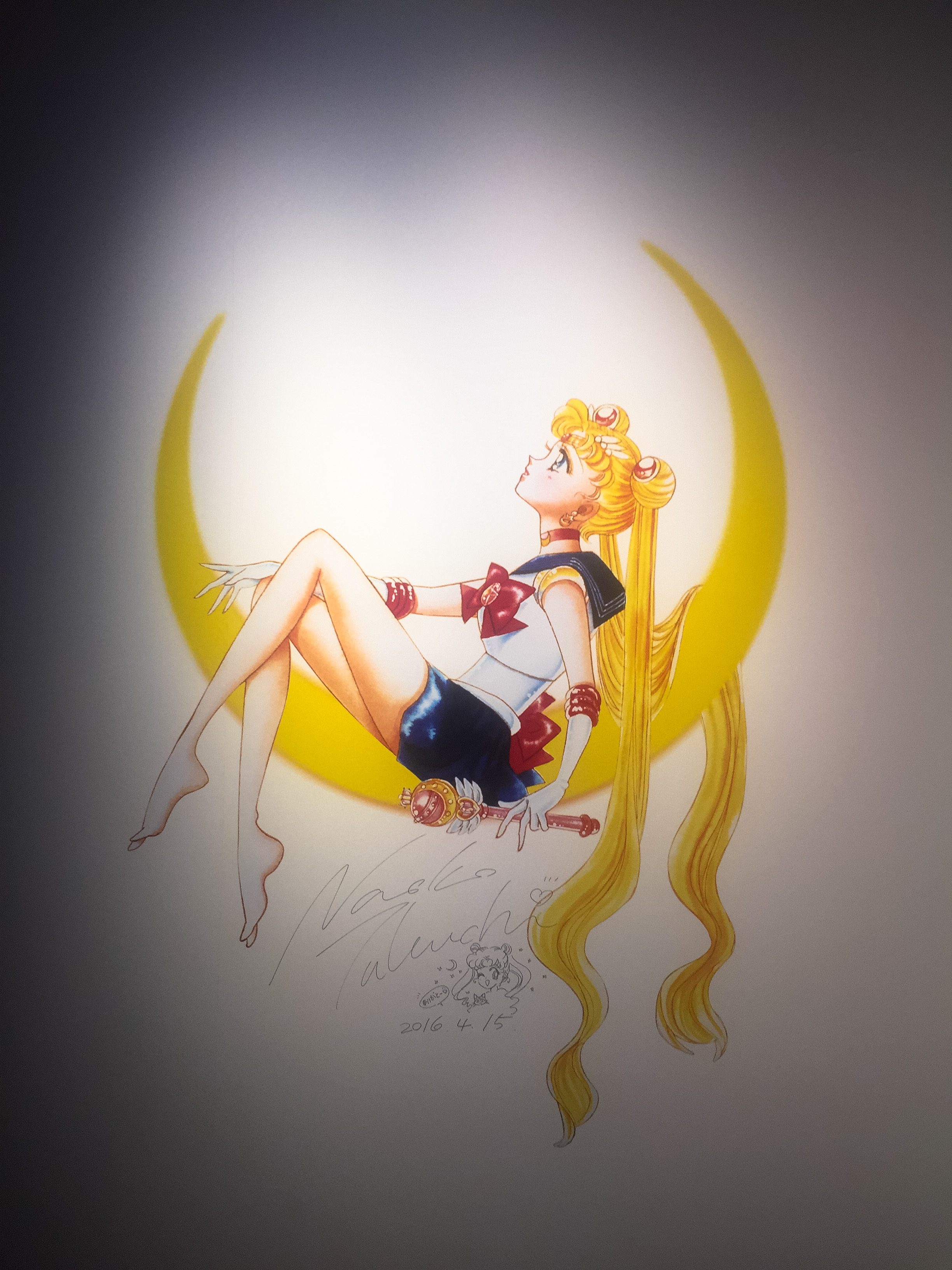 Lulu Meets World Travel Beauty Fashion Blog Sailor Moon Exhibit Tokyo Japan