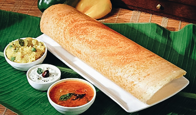 dosa Indian Vegetarian Street Foods Lulu Meets World Mumbai India Asia Travel Blog