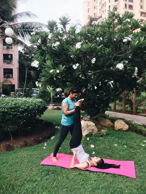 Yoga Tips for Beginners Lulu Meets World Travel Blog Mumbai India Lumen Beltran