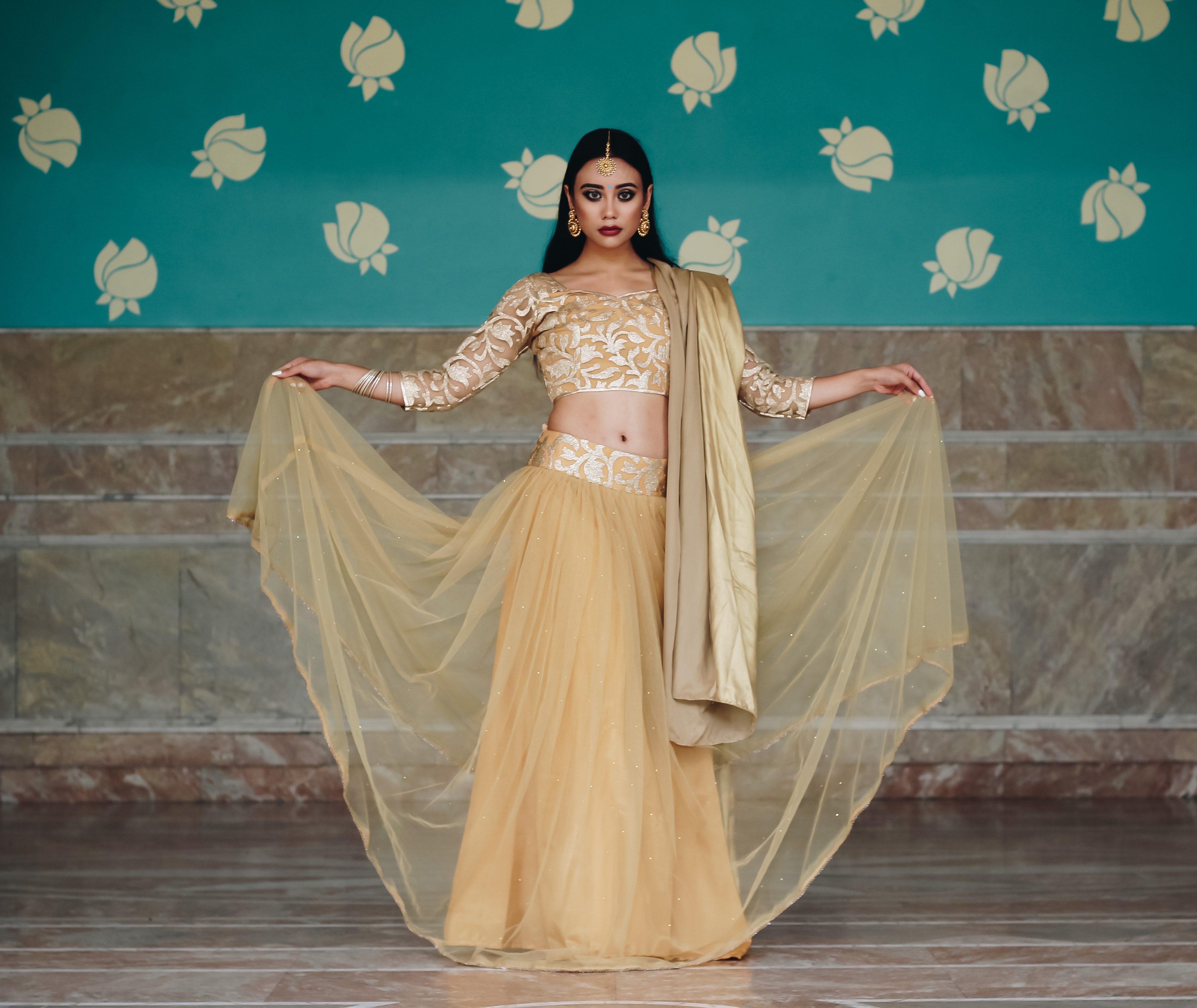 Indian Ethnic Wear Label Prerna Mehra Lehenga OOTD Fashion Style Desi Bridal