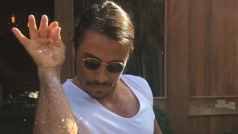 Salt Bae Desi V Desi The Taste Case #LuluEatsWorld Lulu Meets World