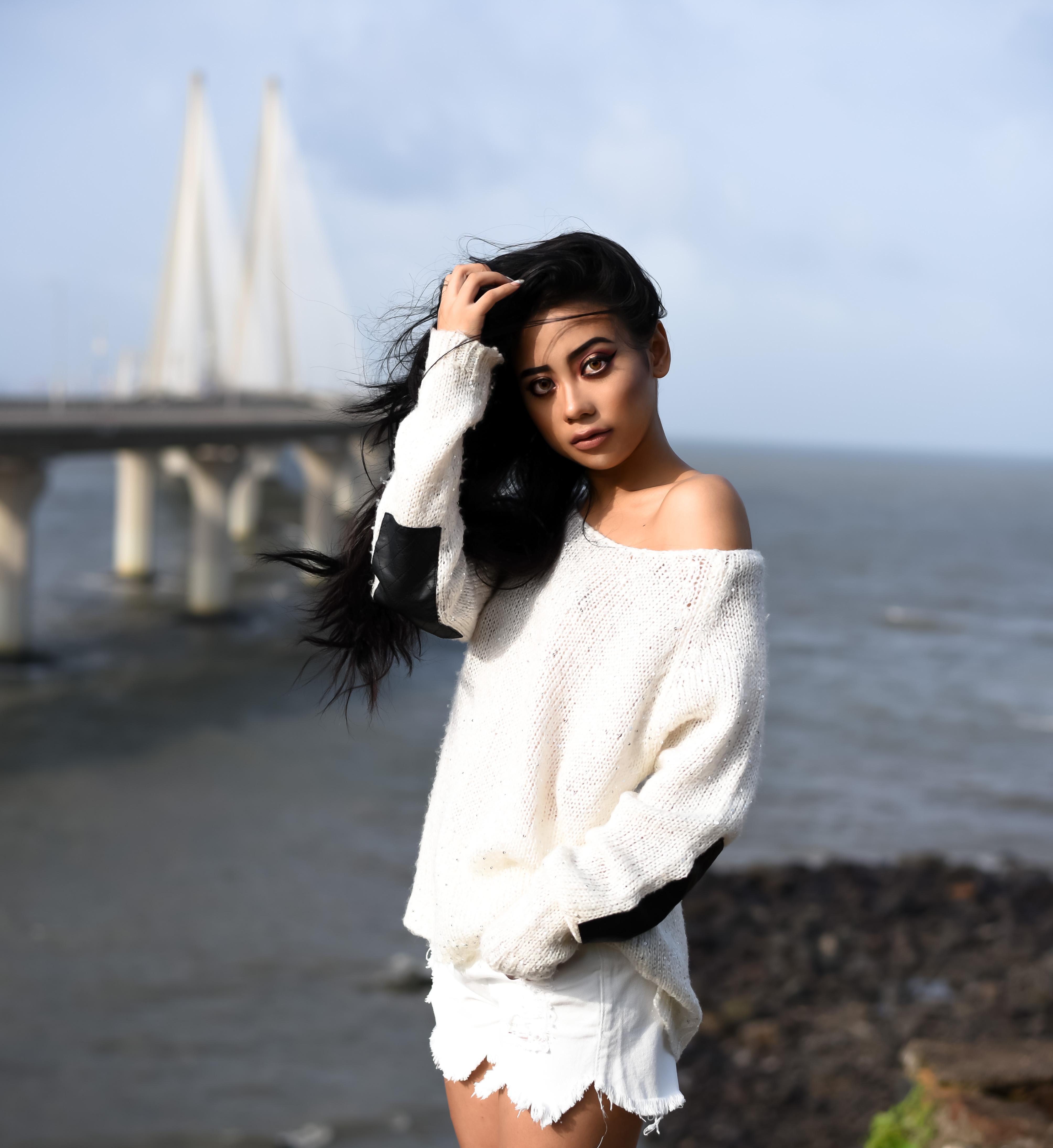 Lulu Meets World All-White Lookbook Mumbai Bombay India Asia