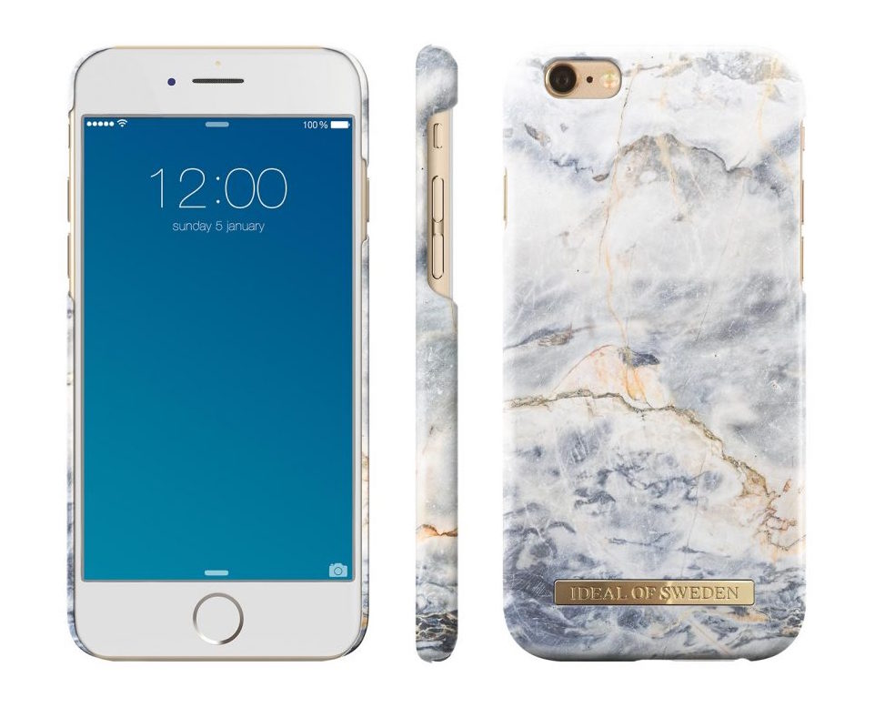 Ocean Marble for iPhone 6/6S iDeal of Sweden Lulu Meets World Travel Tech Gear