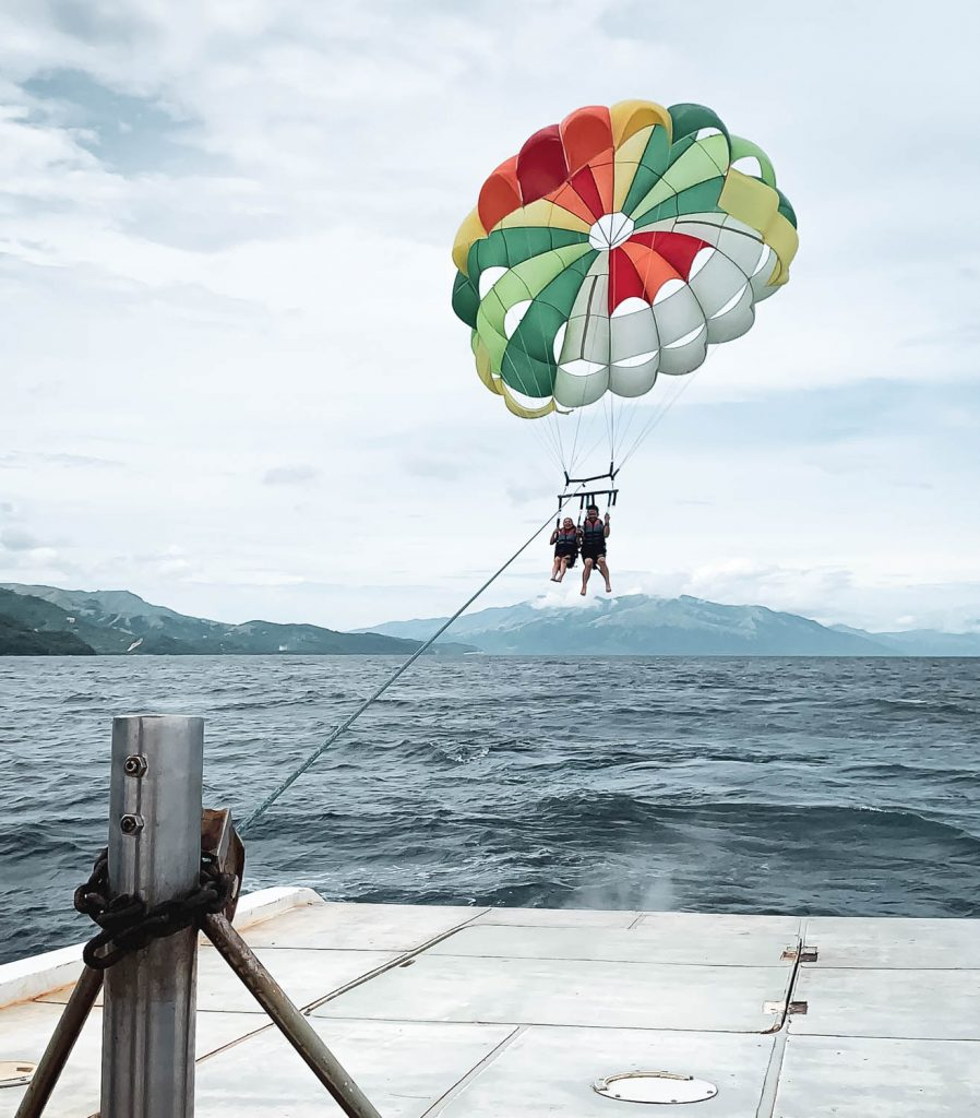Parasailing in Puerto Galera Philippines Travel Blog